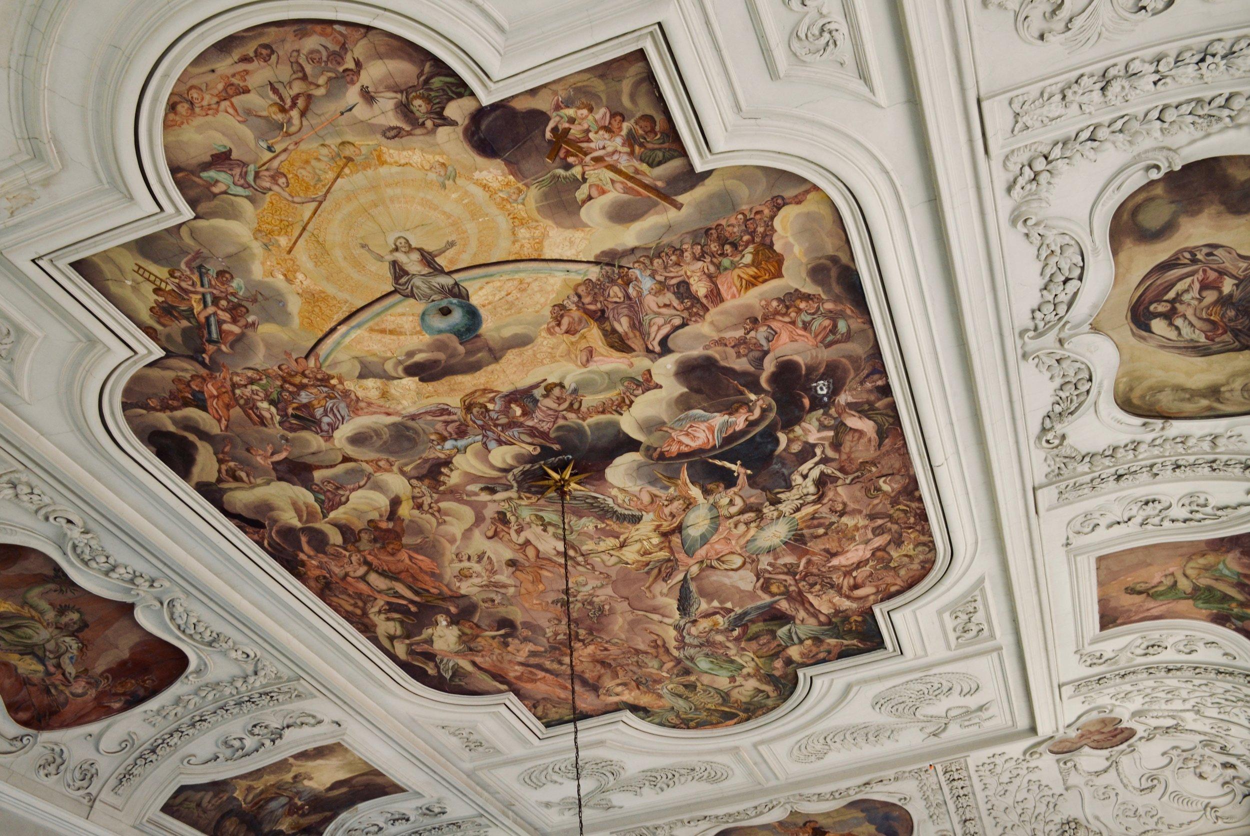 Ceiling detail, Marien-Magdalenen-Kirche, Naumburg.