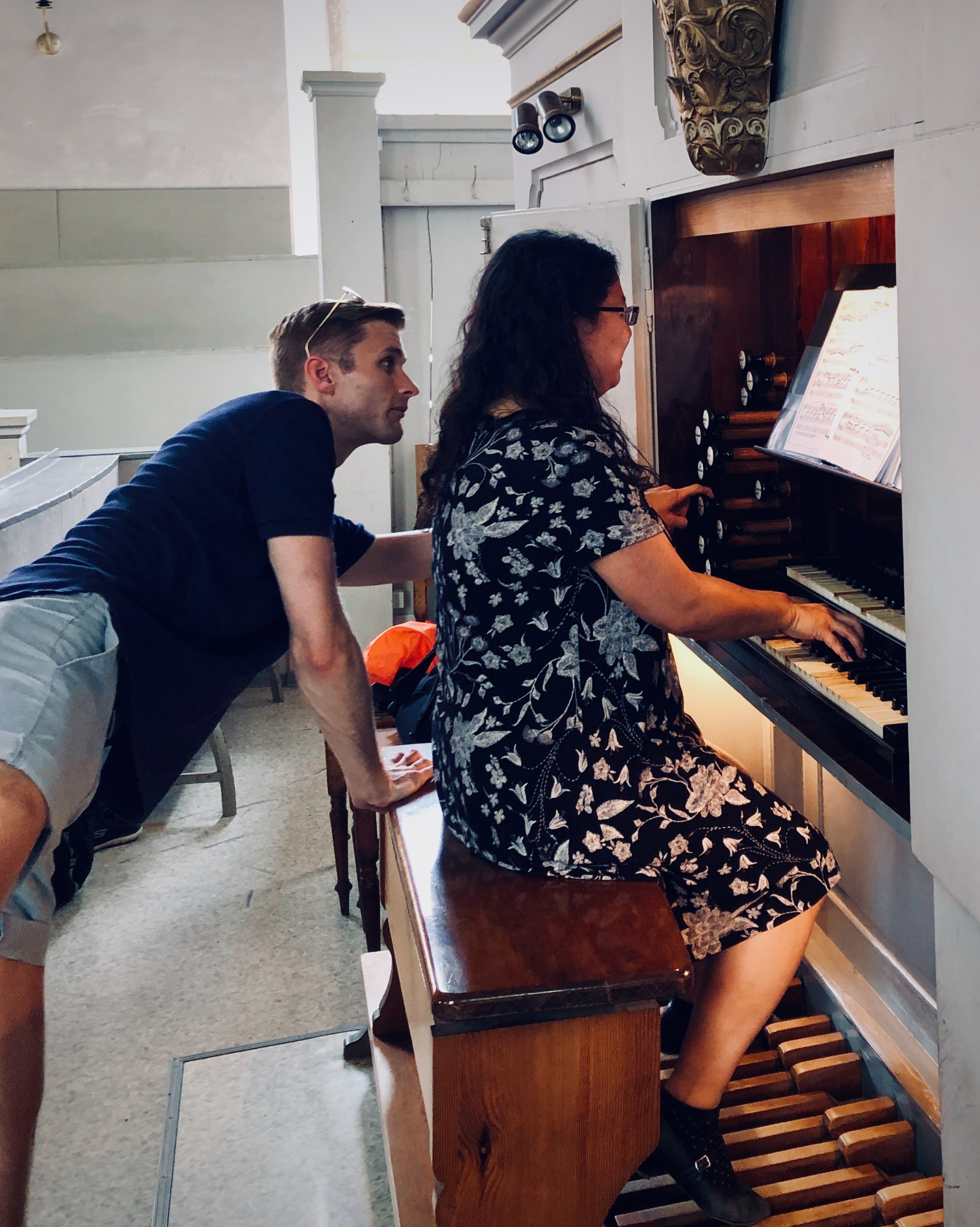 Jennifer Hsiao plays the 1869 Ladegast Organ, Marien-Magdalenen-Kirche, Naumburg, with assistance from Evan Currie.