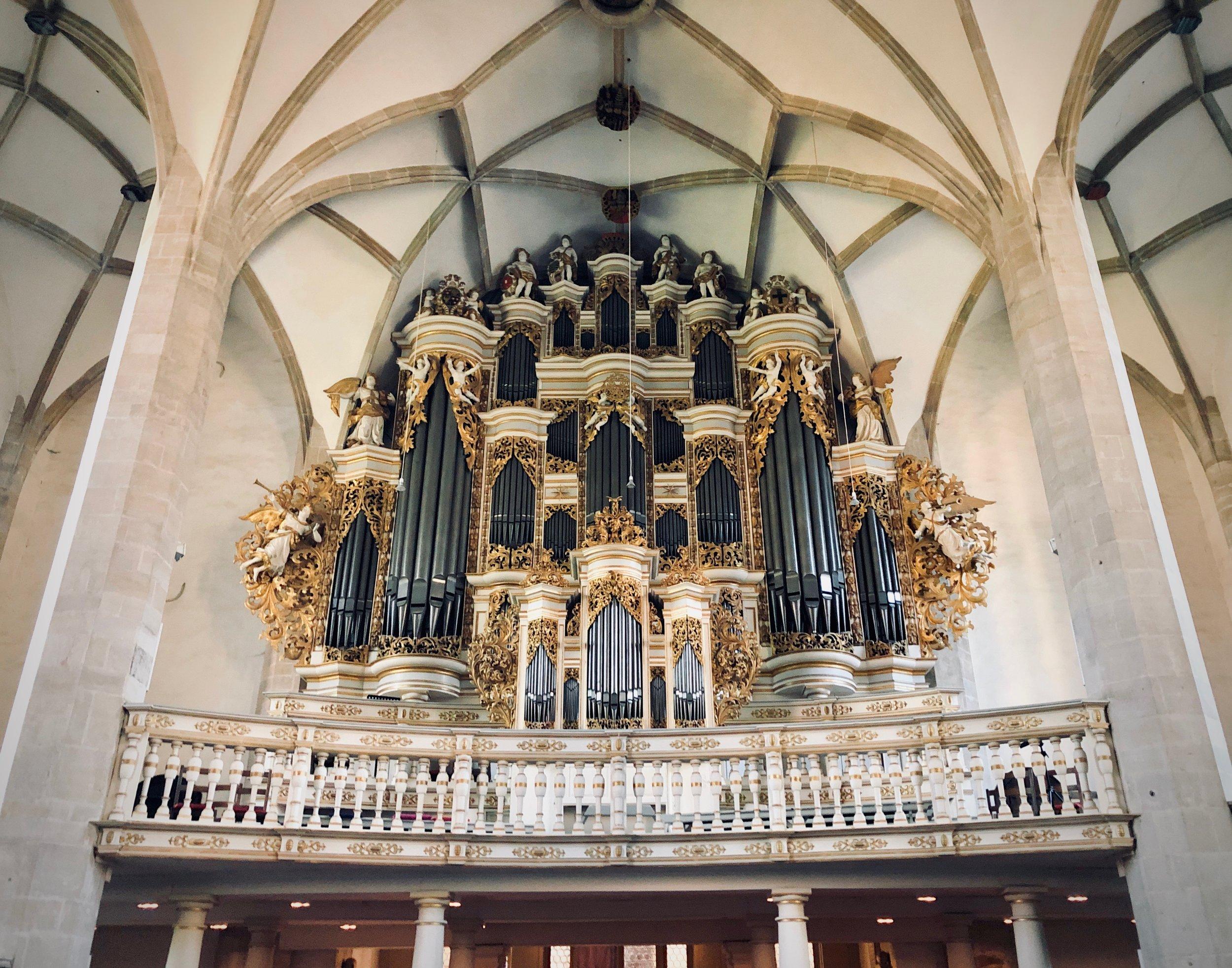 1855 Ladegast Organ, Merseburg Dom.