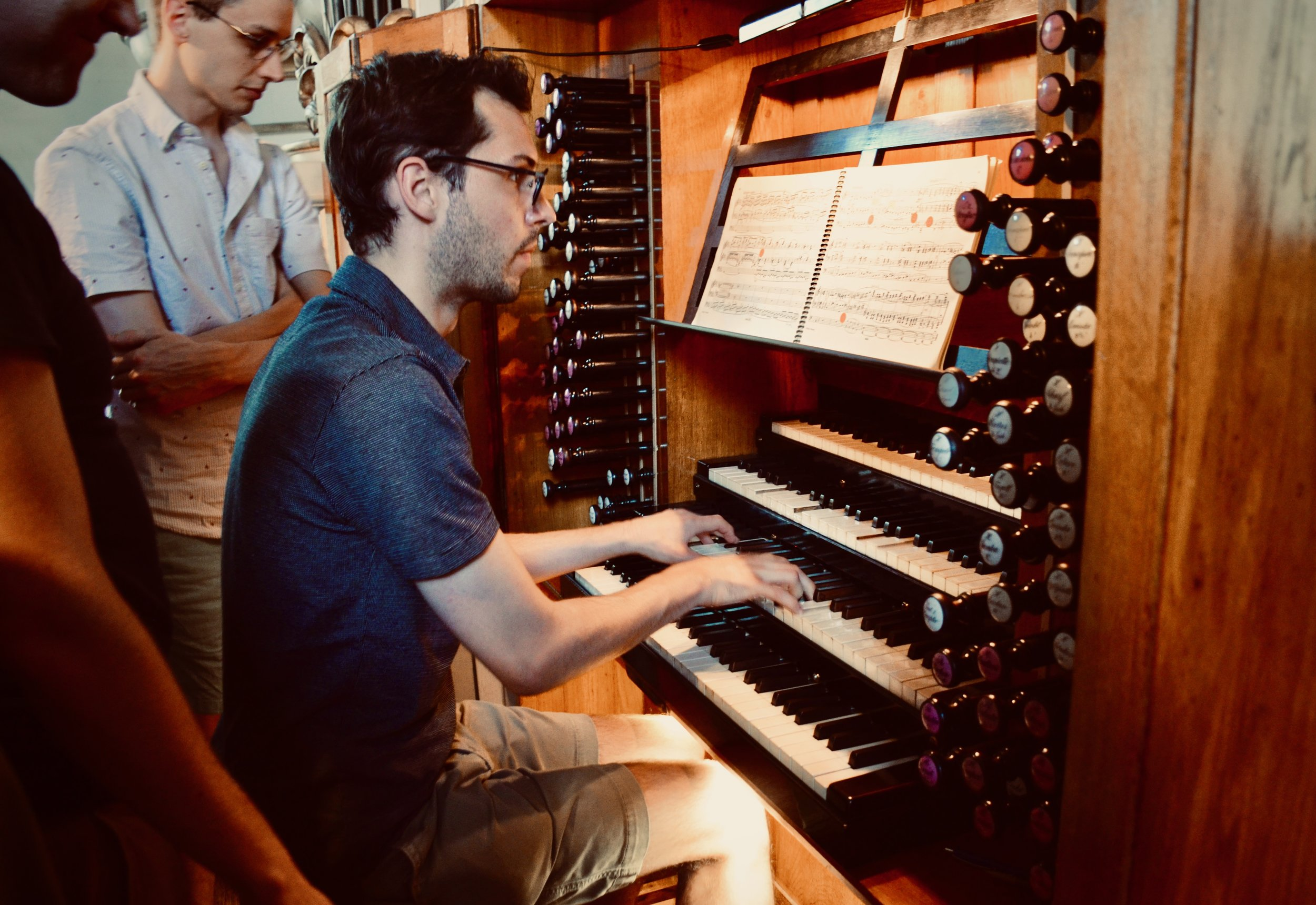 "Nicholas Capozzoli performs Liszt's ""Ad nos…"" on the 1855 Ladegast Organ in Merseburg Dom."