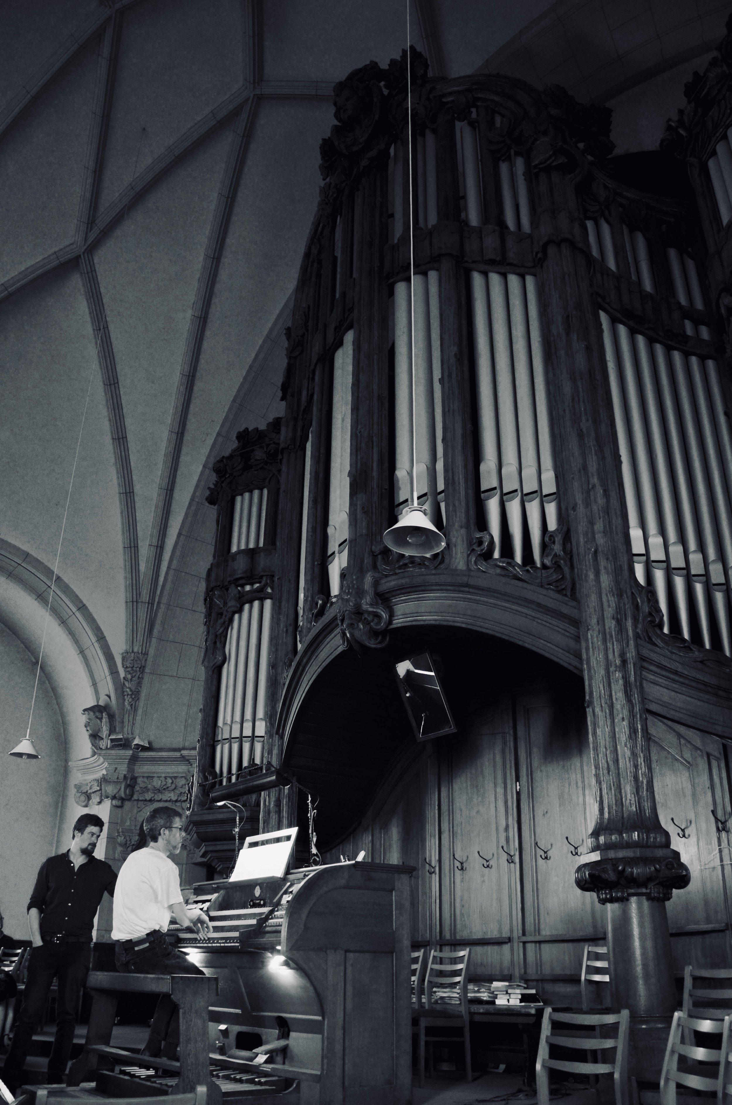 1904 Sauer Organ, Michaeliskirche, Leipzig