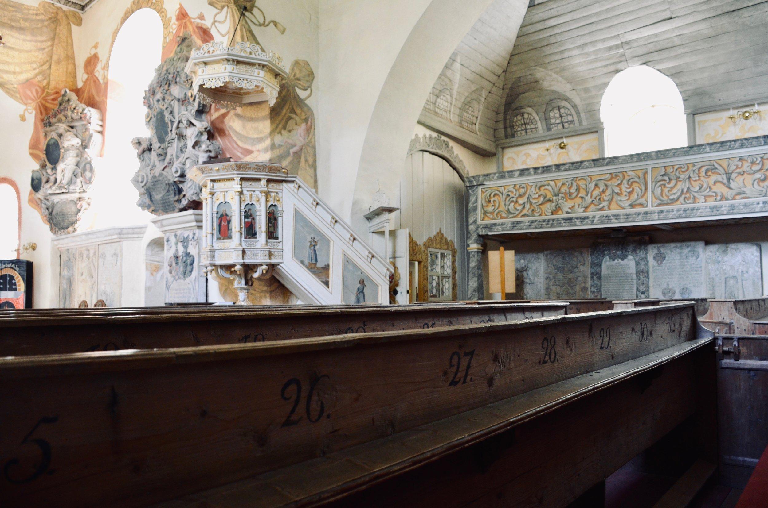 Wehrkirche, Pomßen.