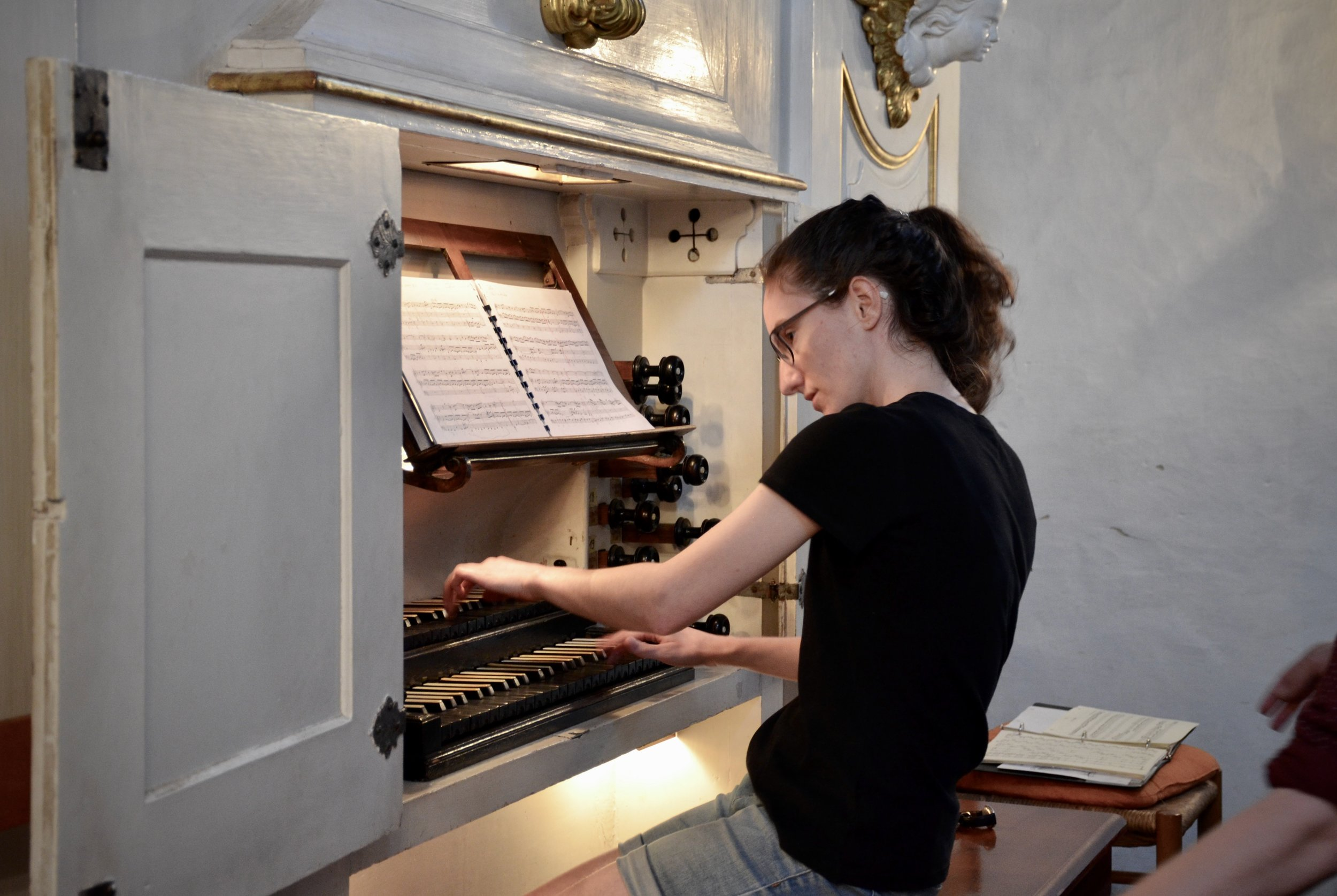 Rosemarie Tougas plays the 1722 Gottfried Silbermann Organ, Killianskirche, Bad Lausick