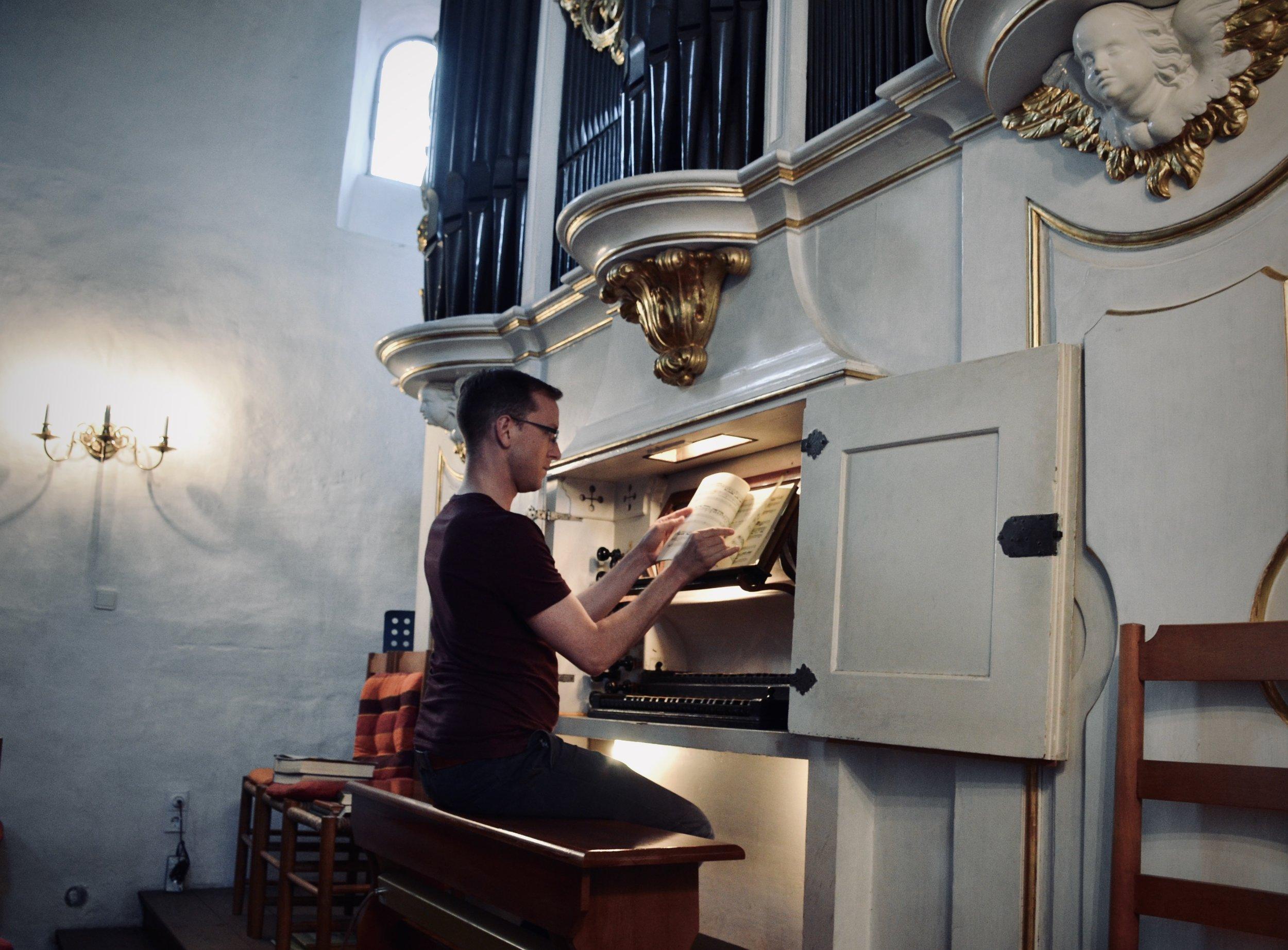 Christian Lane plays the 1722 Gottfried Silbermann Organ, Killianskirche, Bad Lausick