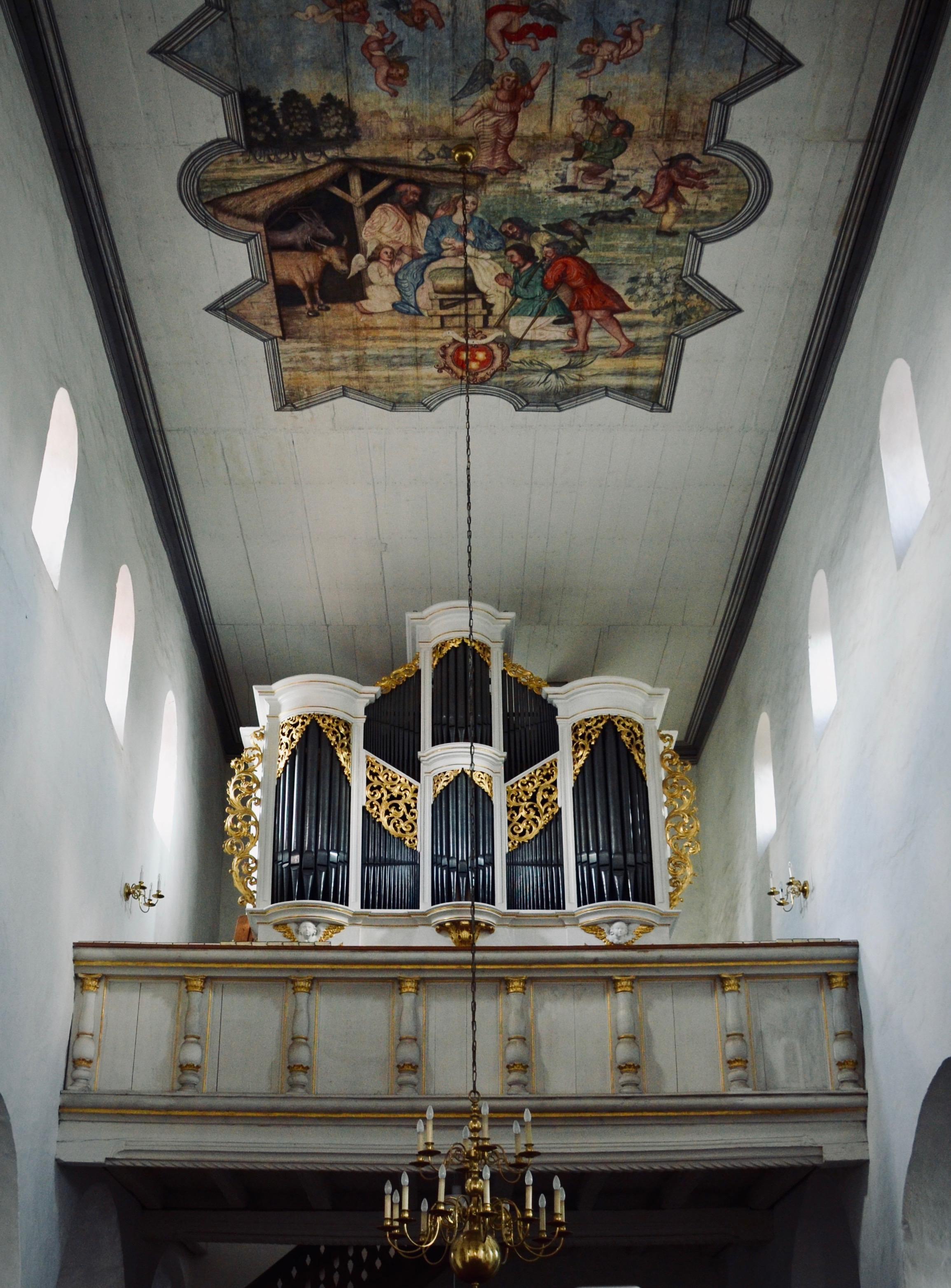 1722 Gottfried Silbermann Organ, Bad Lausick
