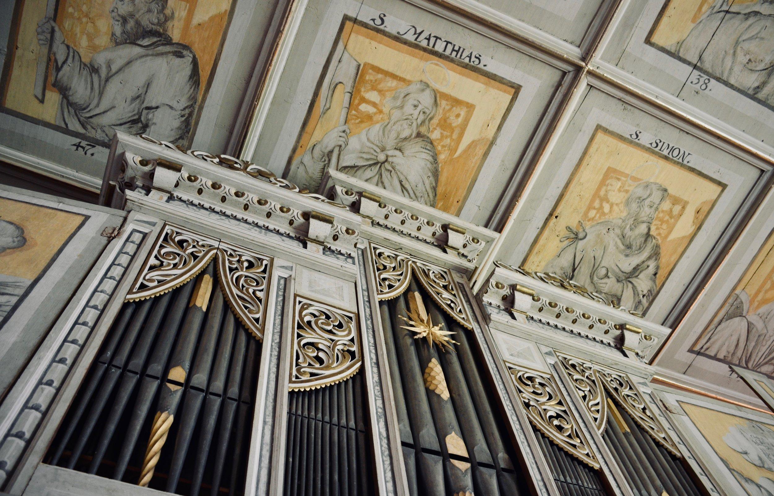 1671 Richter Organ, Pomßen