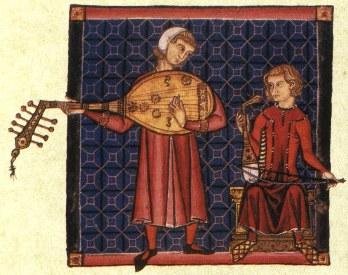 Cantigas de Santa Maria, E codex, El Escorial, Espagne, XIIIe siècle