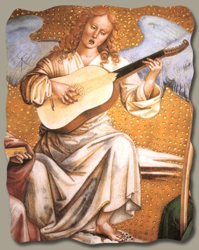 Signorelli Luca, Il Paradiso, Orvieto, Duomo, Cappella di San Brizio,  1499-1502