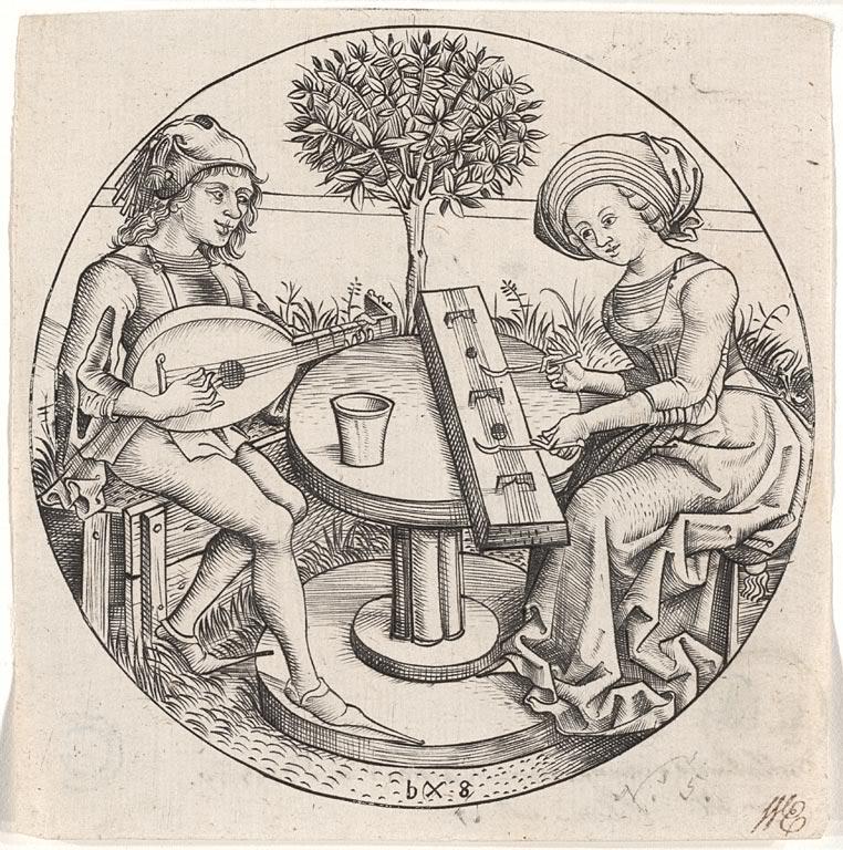 Attribué à Maître BXG, 1470-1490.