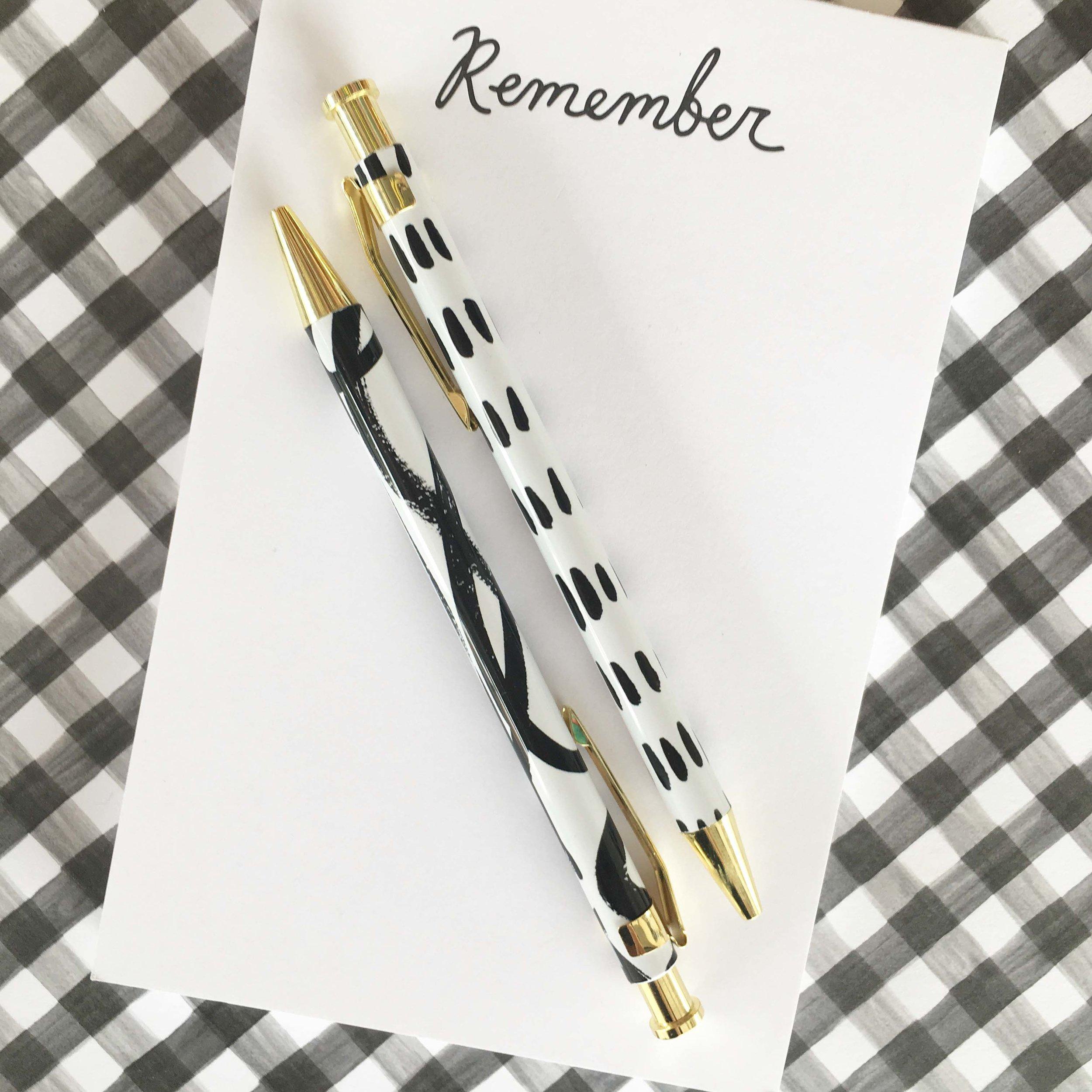 Painterly Pen Set
