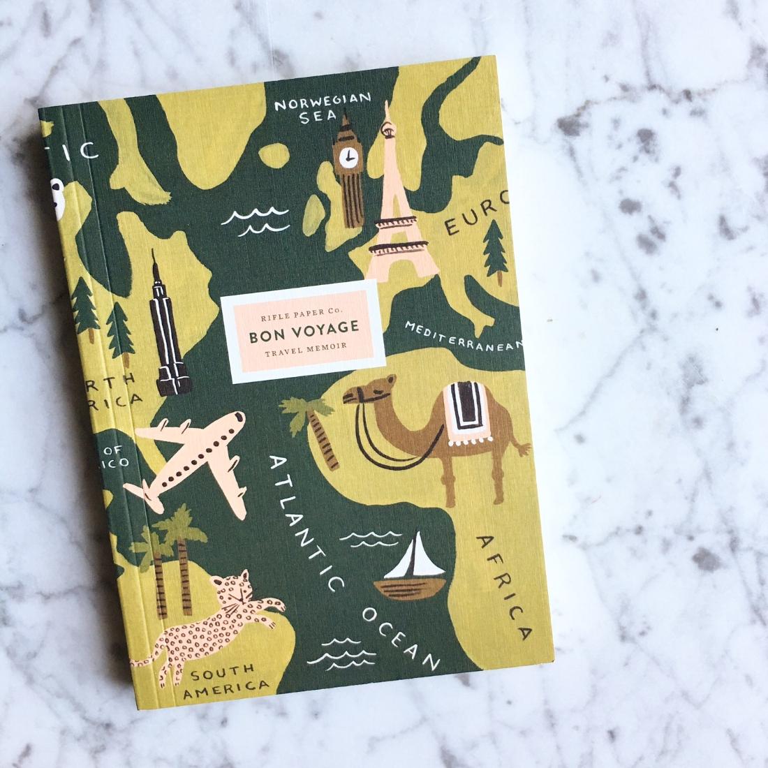 Bon Voyage Travel Memoir
