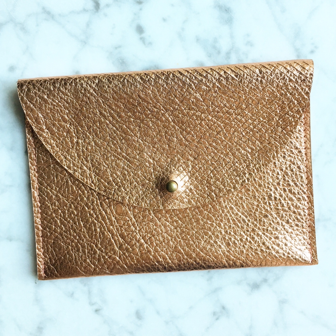 Just the Basics Copper Wallet