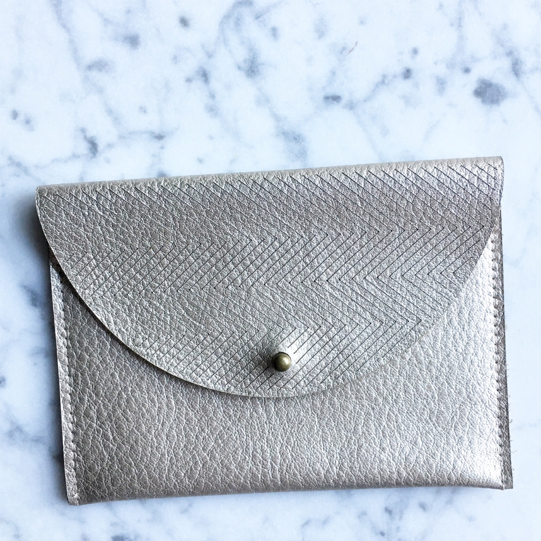 Just the Basics Platinum Wallet