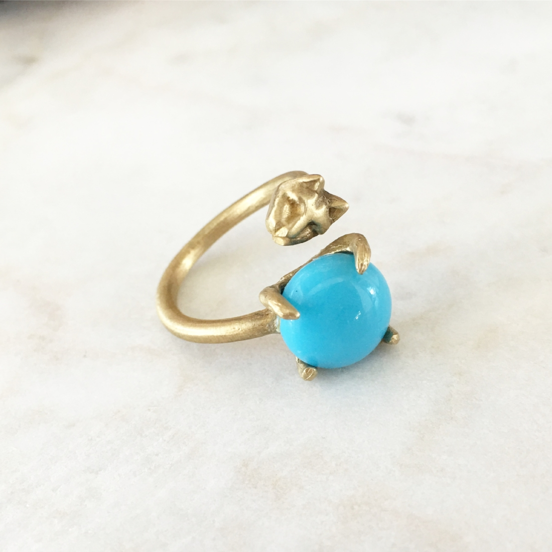 Cat Daddy Turquoise Ring
