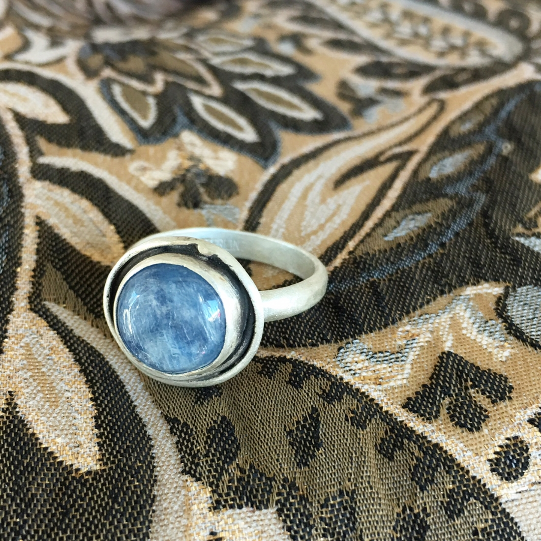 Blue Moon Kyanite Ring