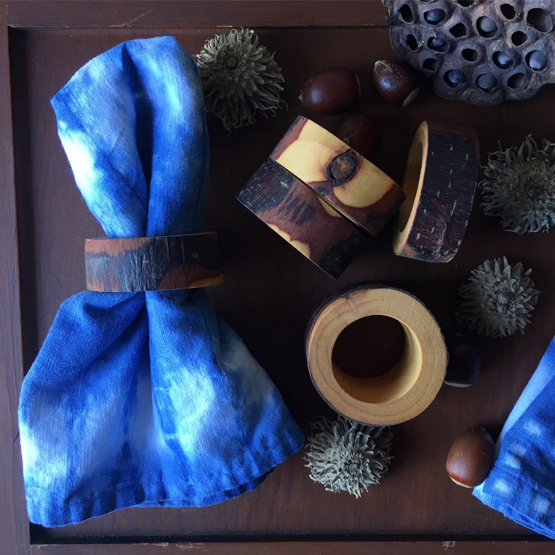 Out of the Woods Napkin Ring Set
