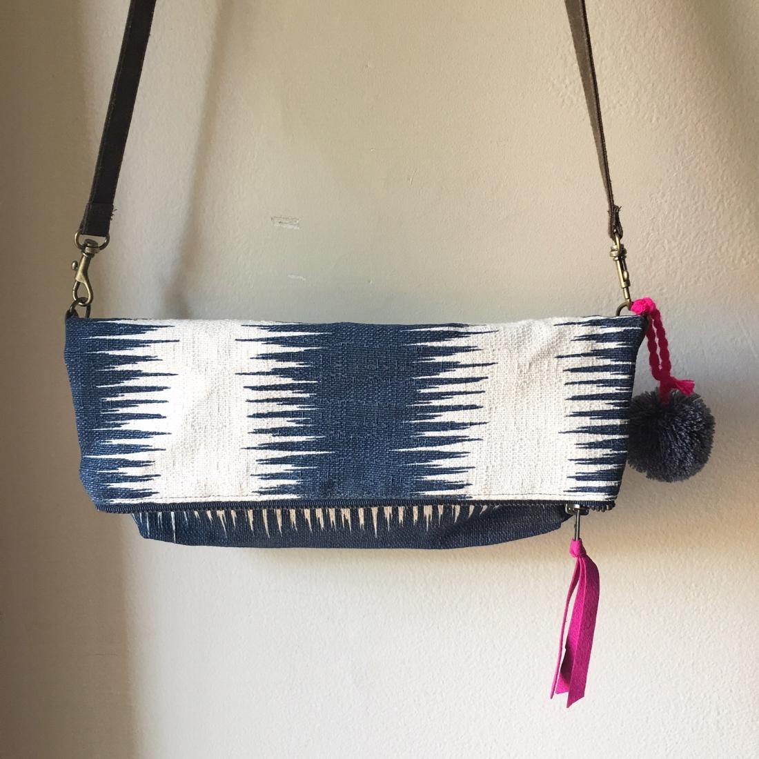 Ikat Crossbody Bag