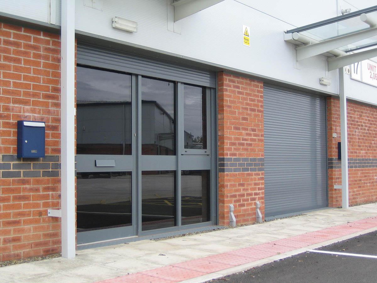 Built-in shutters