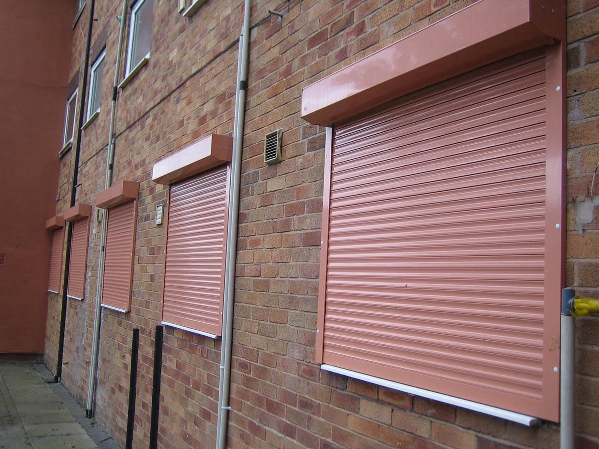 Built-on shutters