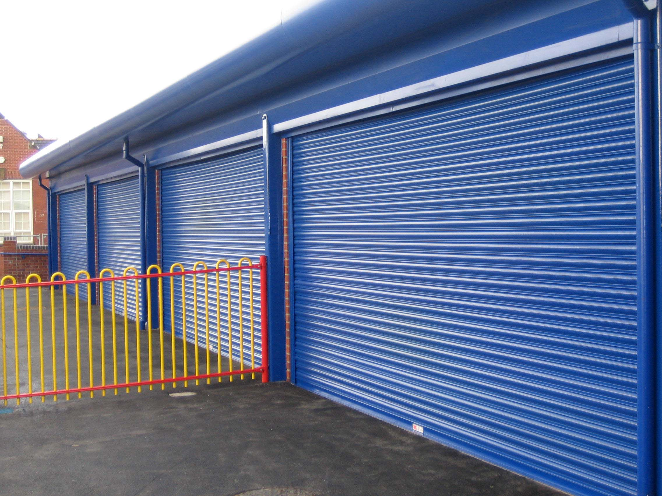 School security shutters