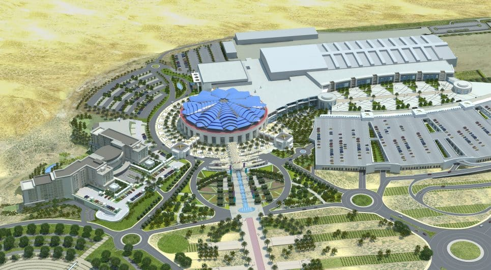 Oman Convention and Exhibition Centre. -