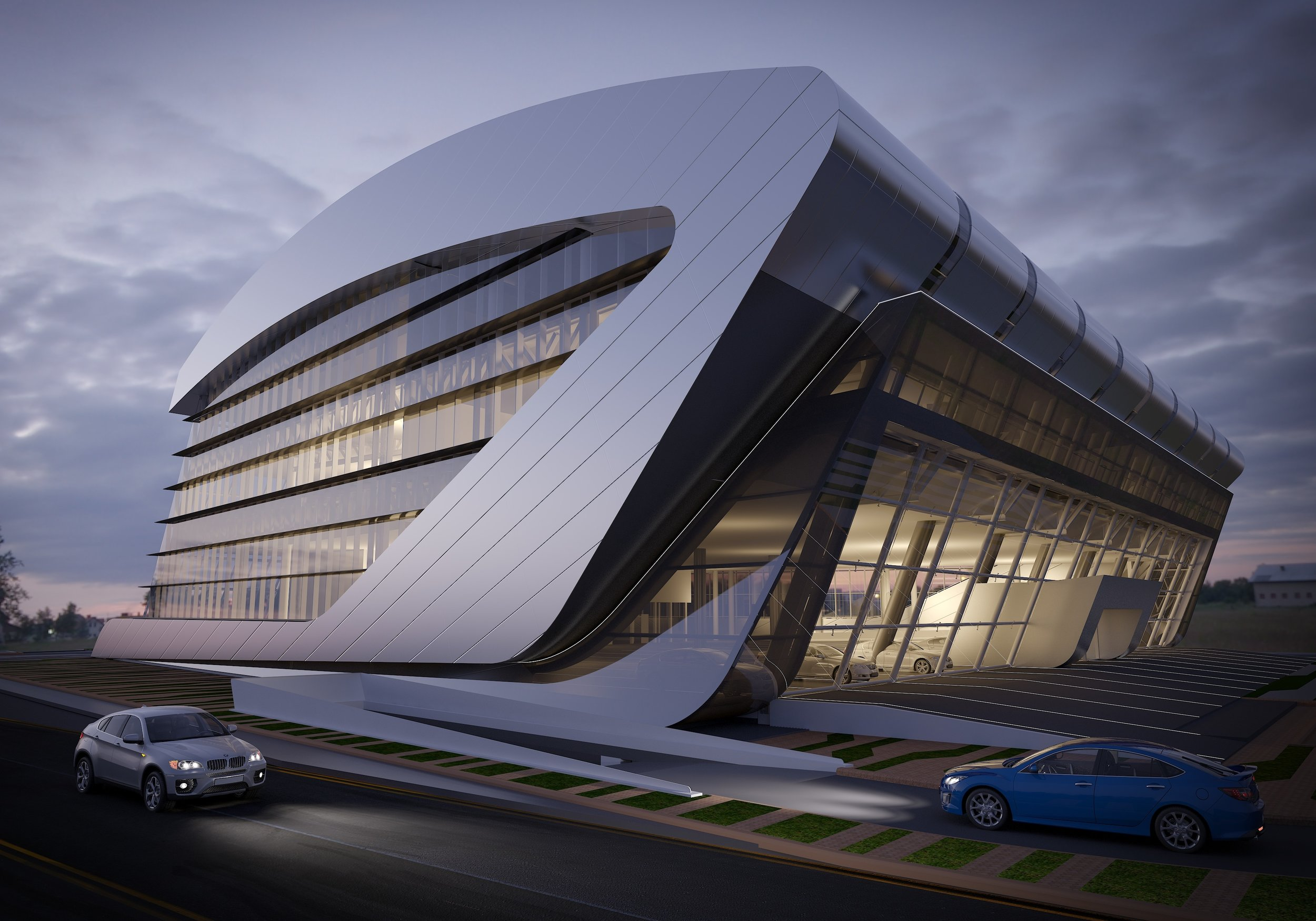 Lexus Showroom Doha..jpg
