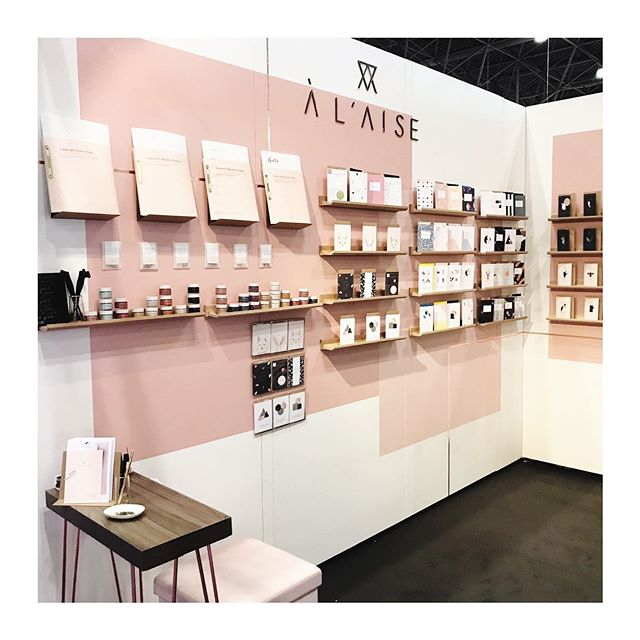 Here we go again! All set up @ny_now We have so many new launches... I'll show you in stories and on our grid over the next couple of days! #nynow #nynow2019 #nationalstationeryshow #nss