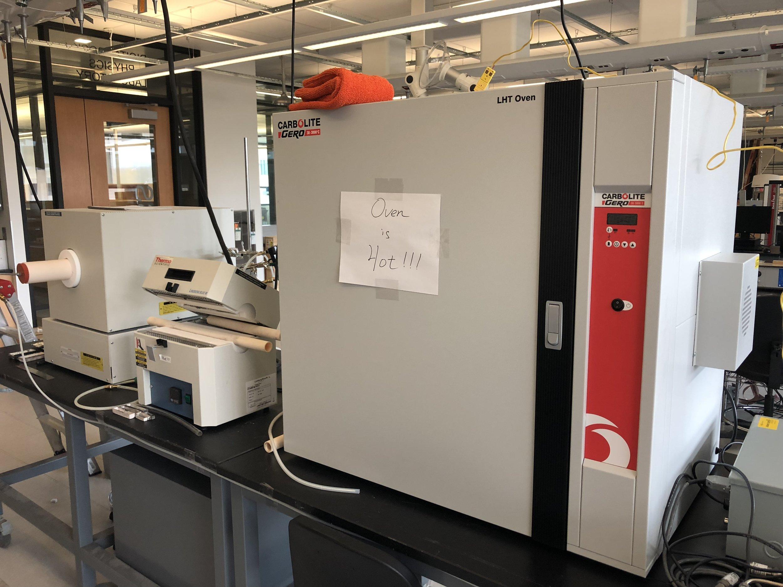Furnaces/Ovens for Carbon Fiber Oxidation/Carbonization