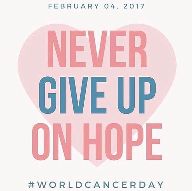 This #WorldCancerDay remember those we've lost, celebrate the survivors and support those who are fighting!  I pray for the day where cancer no longer exists #FindACure #TooManyAffected  Please help spread #Awareness and #FinishTheFight to end cancer!  #Fighter #Survivor #StayStrong #PositiveEnergy #NeverGiveUp #Hope #Faith #Strength #Courage #CancerAwareness #StandUpToCancer  #JoinTheFight #BeTheChange #CancerSucks #KissCancerGoodbye #FindACureToAllCancers  @SU2C @americancancersociety @danafarber @joeandruzzifndn @letsfcancer