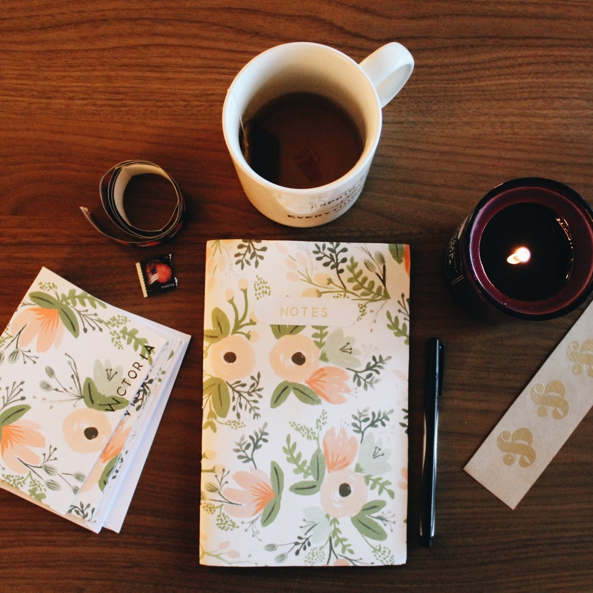 A Cozy Letter Writing Afternoon - A Collaboration with English Country Press, October 2016