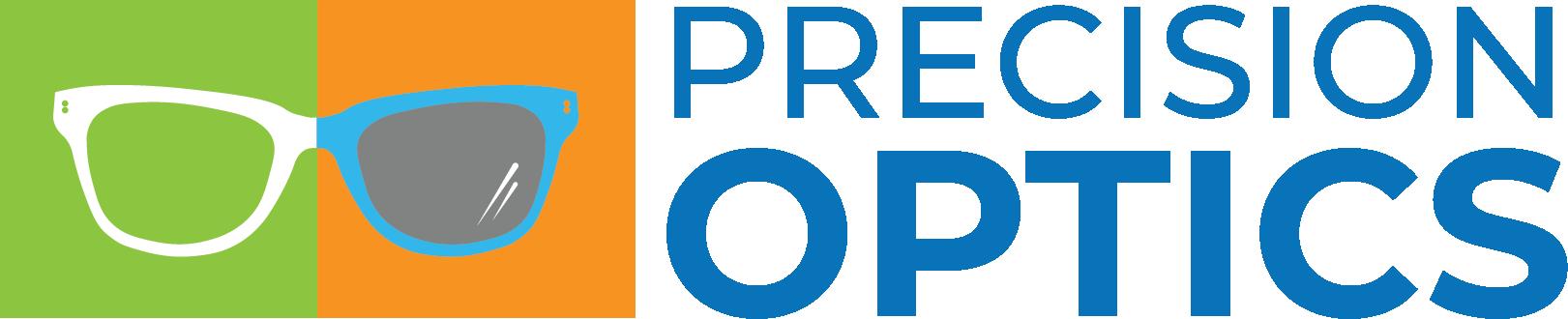 Precision Optics Horizontal Logo