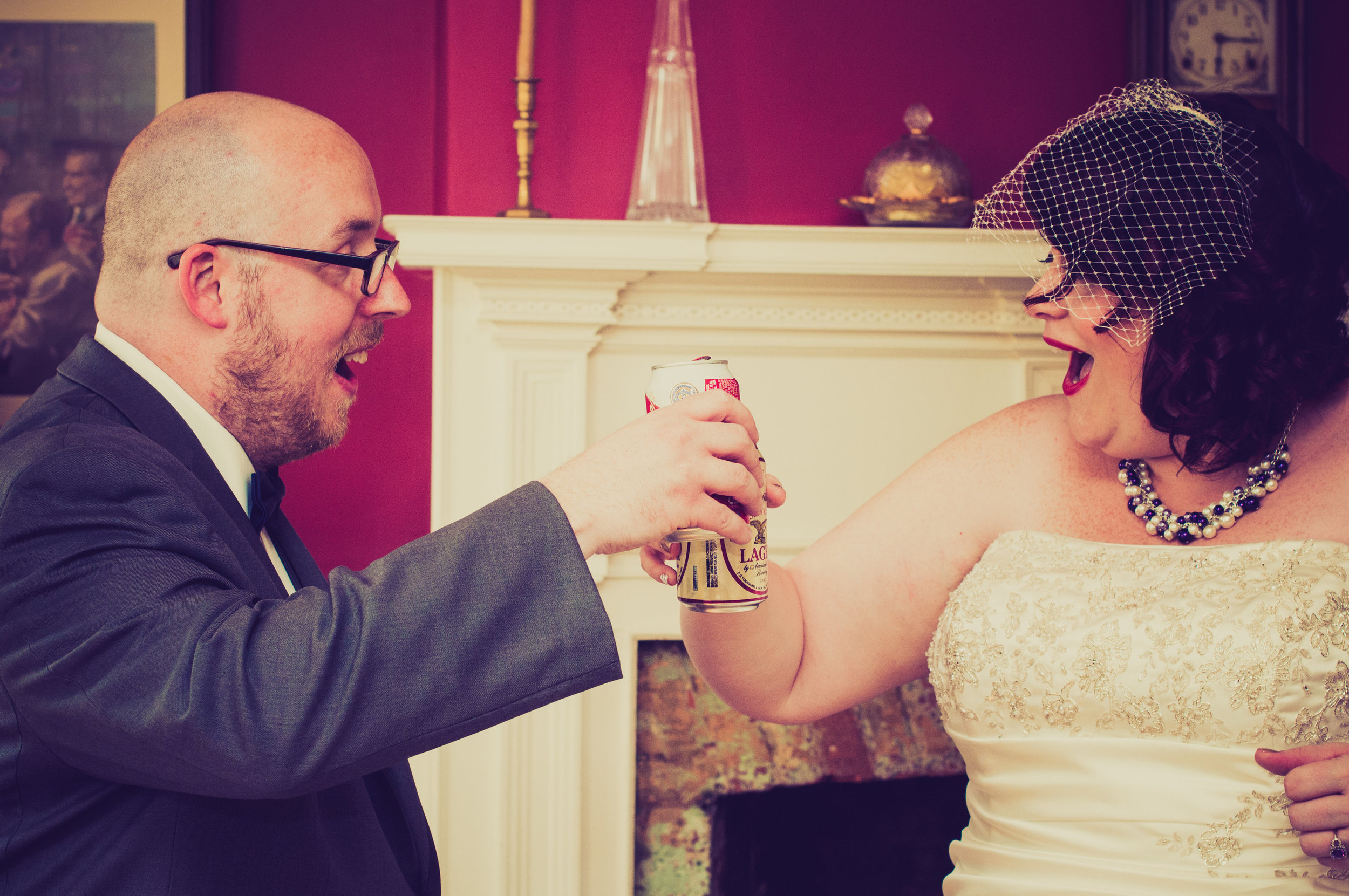 This is my most favorite picture ever from our wedding day.