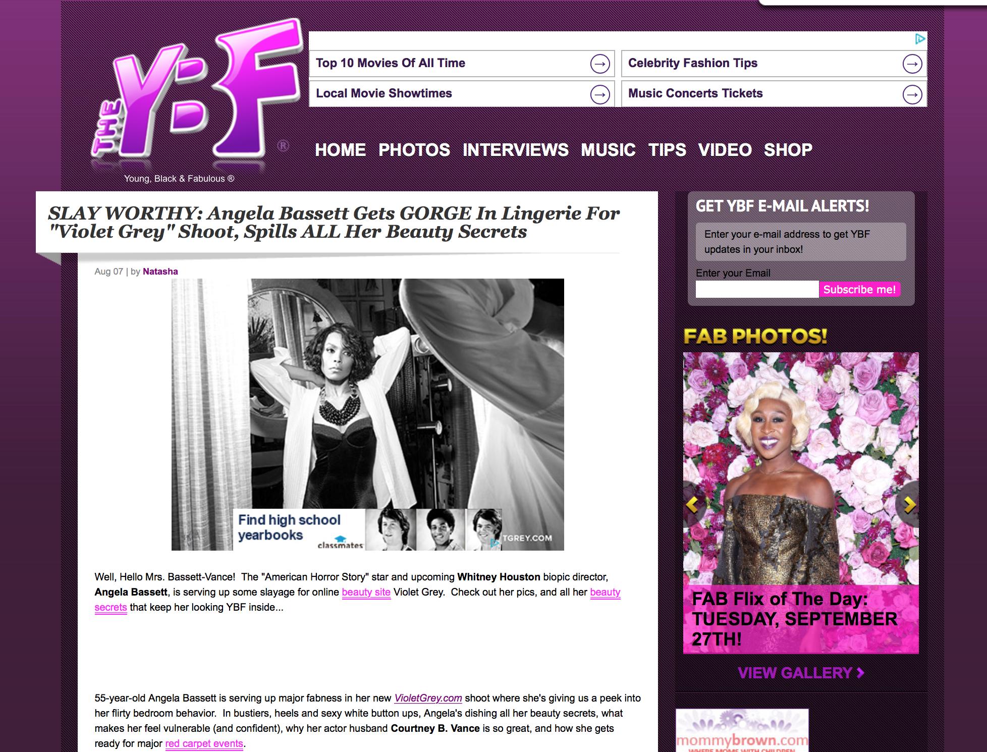 Press: TheYBF.com  Featuring:Angela Bassett