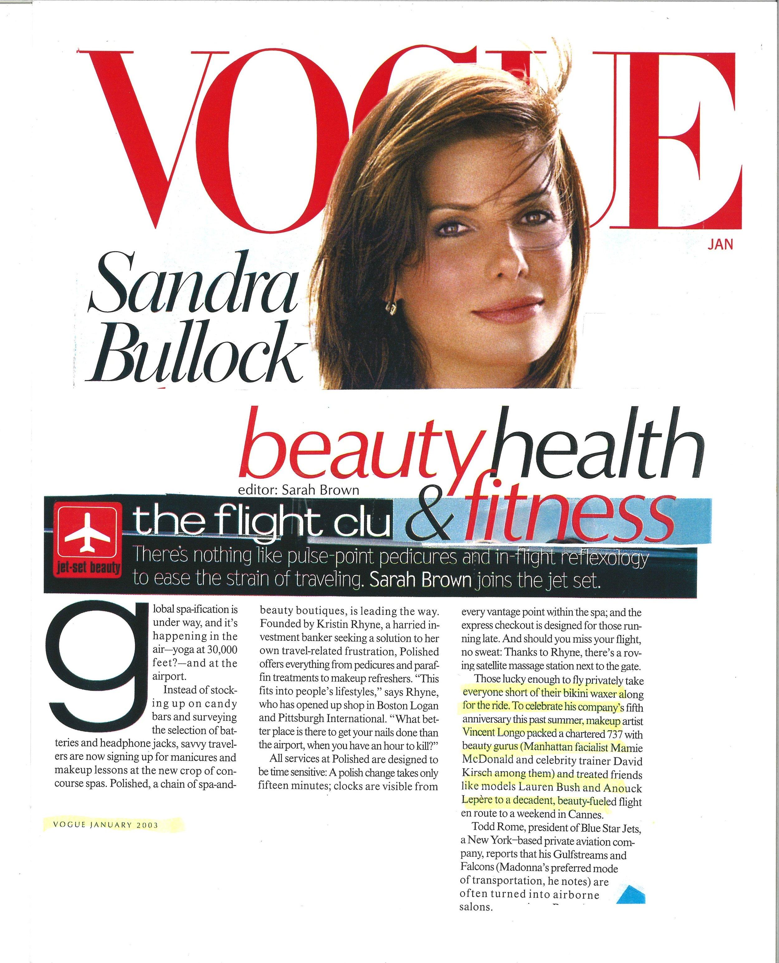 Press: Vogue Magazine   Featuring  : Mamie