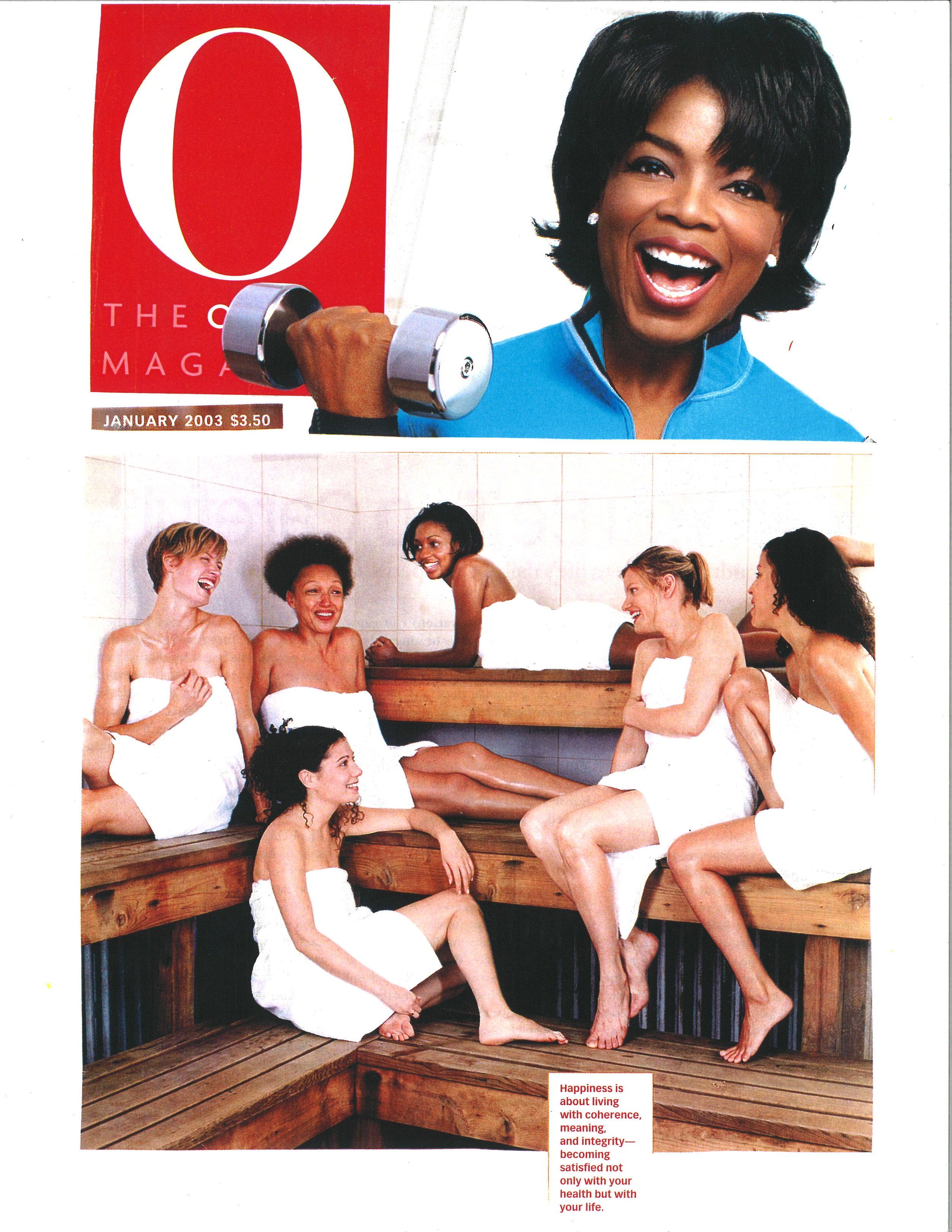 Press: O Magazine    Featuring  : Mamie