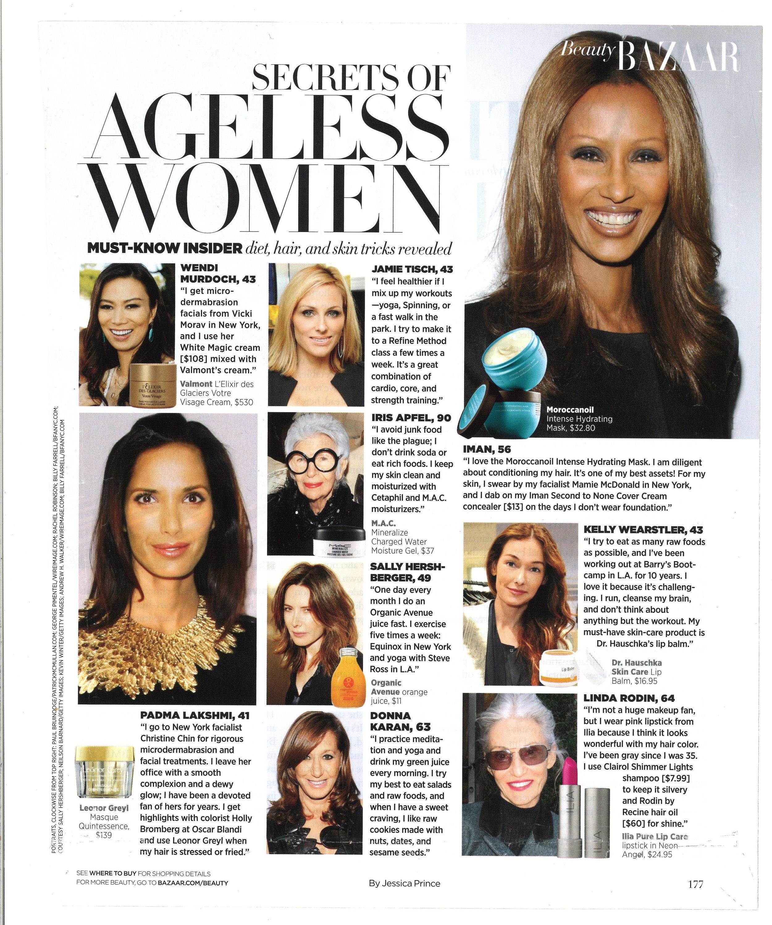 Press: Harpers Bazaar  Featuring:Iman