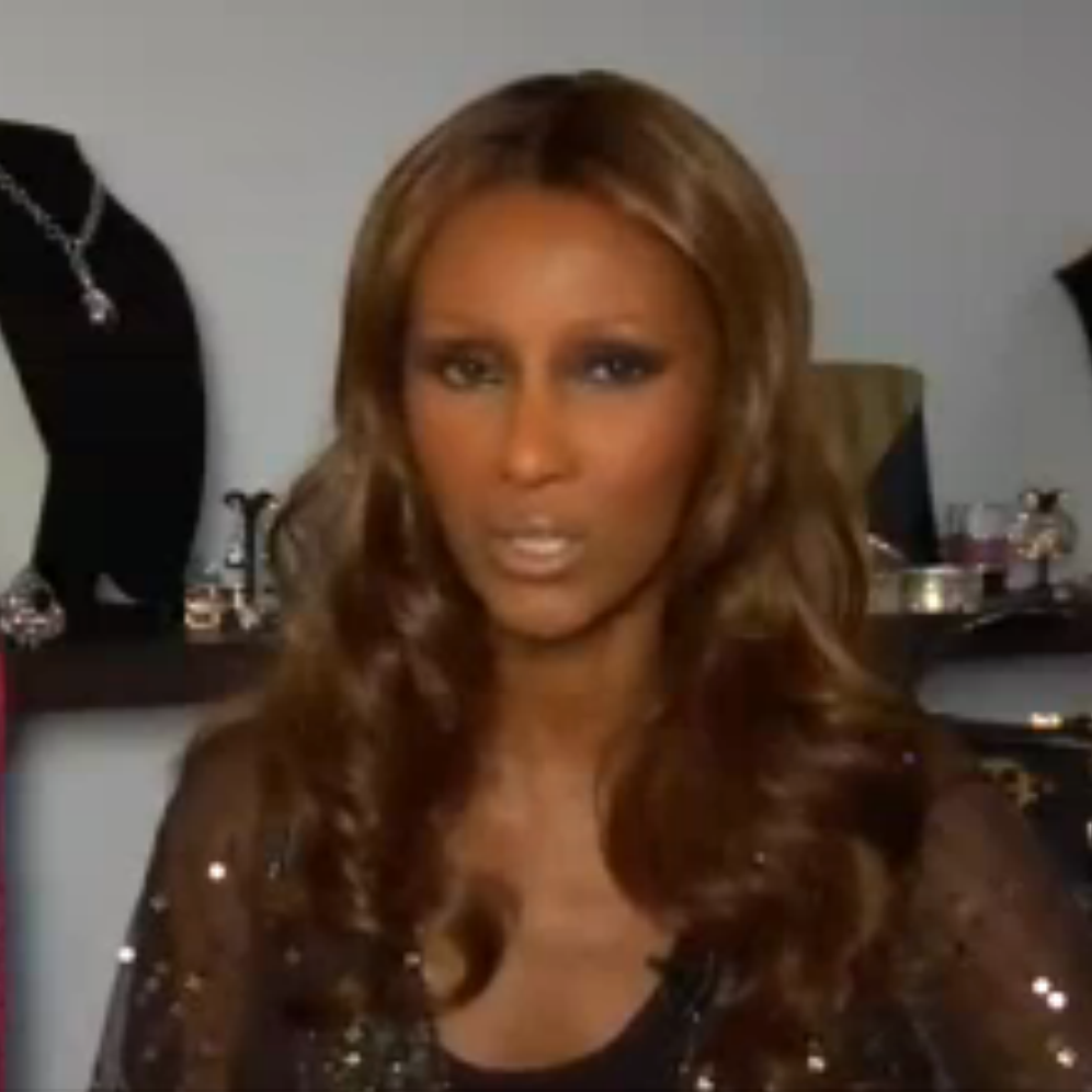 Press: 1st Look    Featuring: Iman