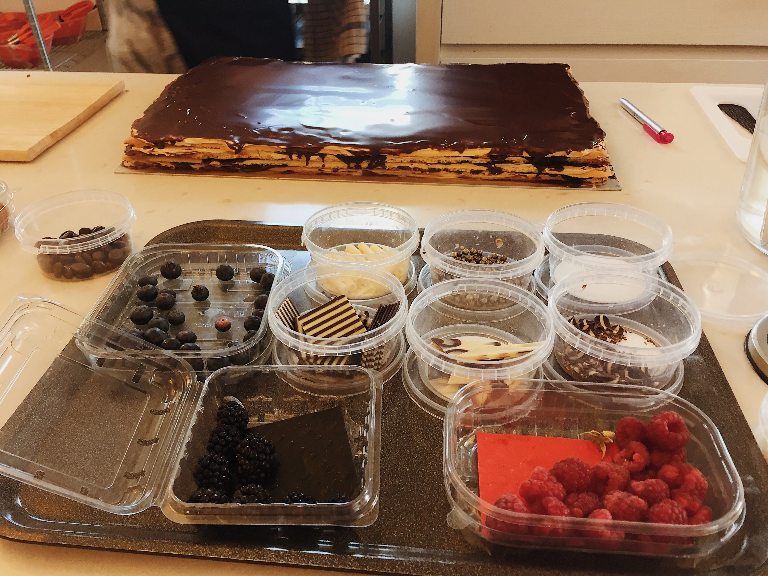 A Gateaux Opera in the making...finished products below!