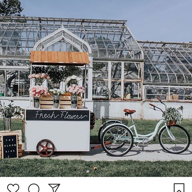 I'd like to introduce you to @bloomandlakecreative, a new event planning company in Holland, MI! I'm going to their upcoming flower arranging class & networking mixer on Sept. 26 at 6:30pm. This is the bloom bike that will be filled to the BRIM with flowers for us to use! Can't wait! It's follow Friday so give her a follow, will you? #followfriday