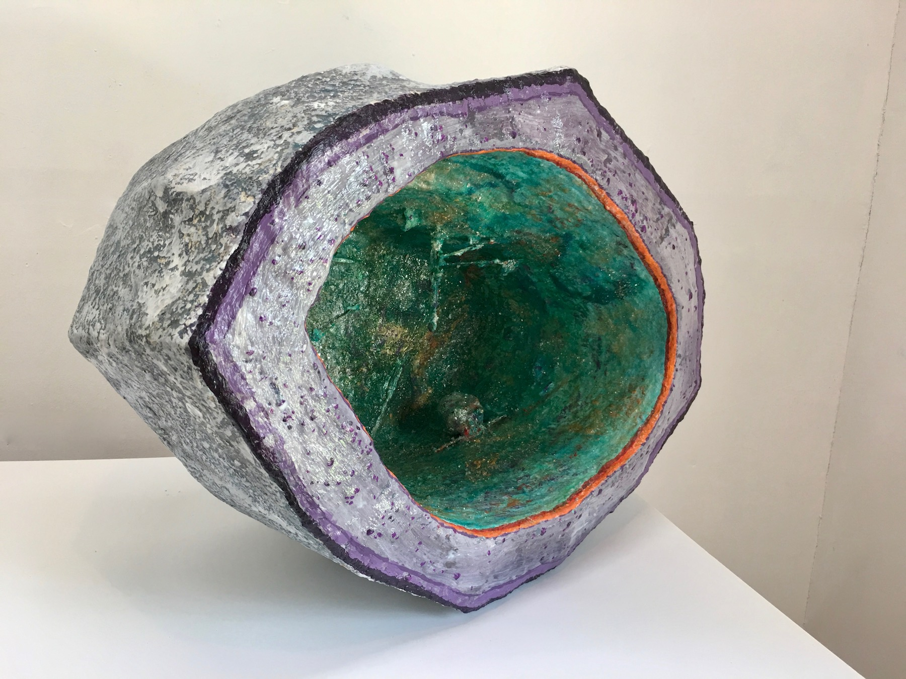 Large Green Geode