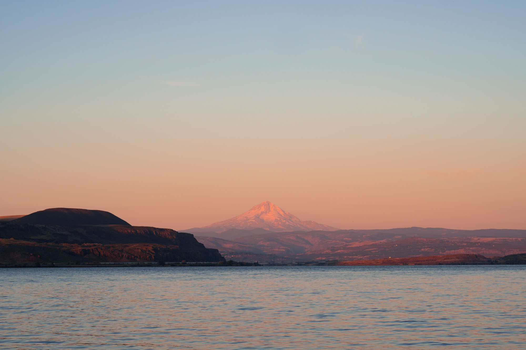 View from our site in the Columbia River Gorge