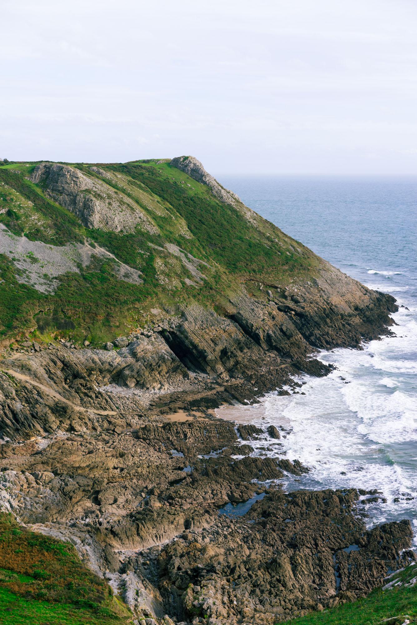 Hike at Three Cliffs Bay