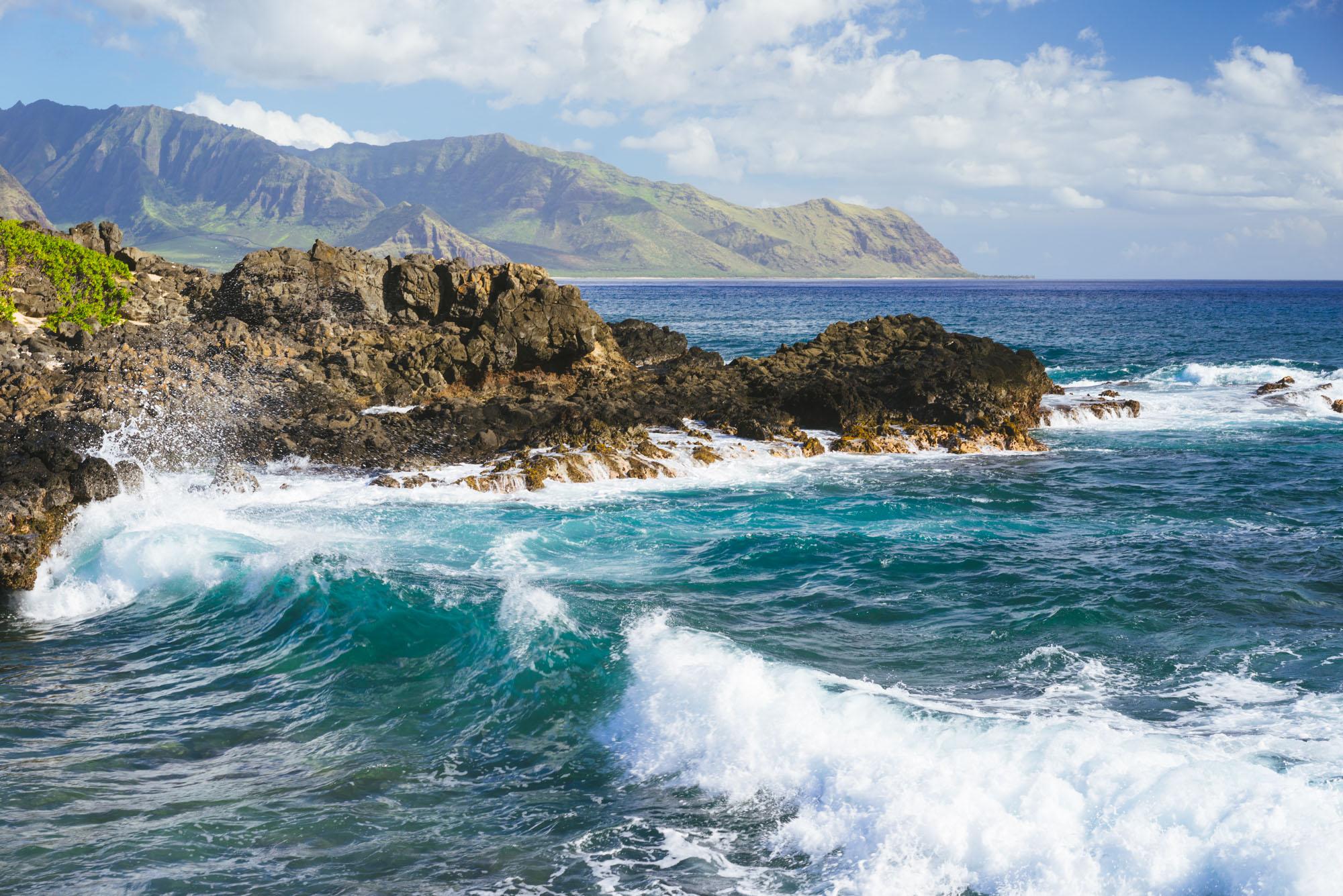 And on to Hawaii, Kaena Point