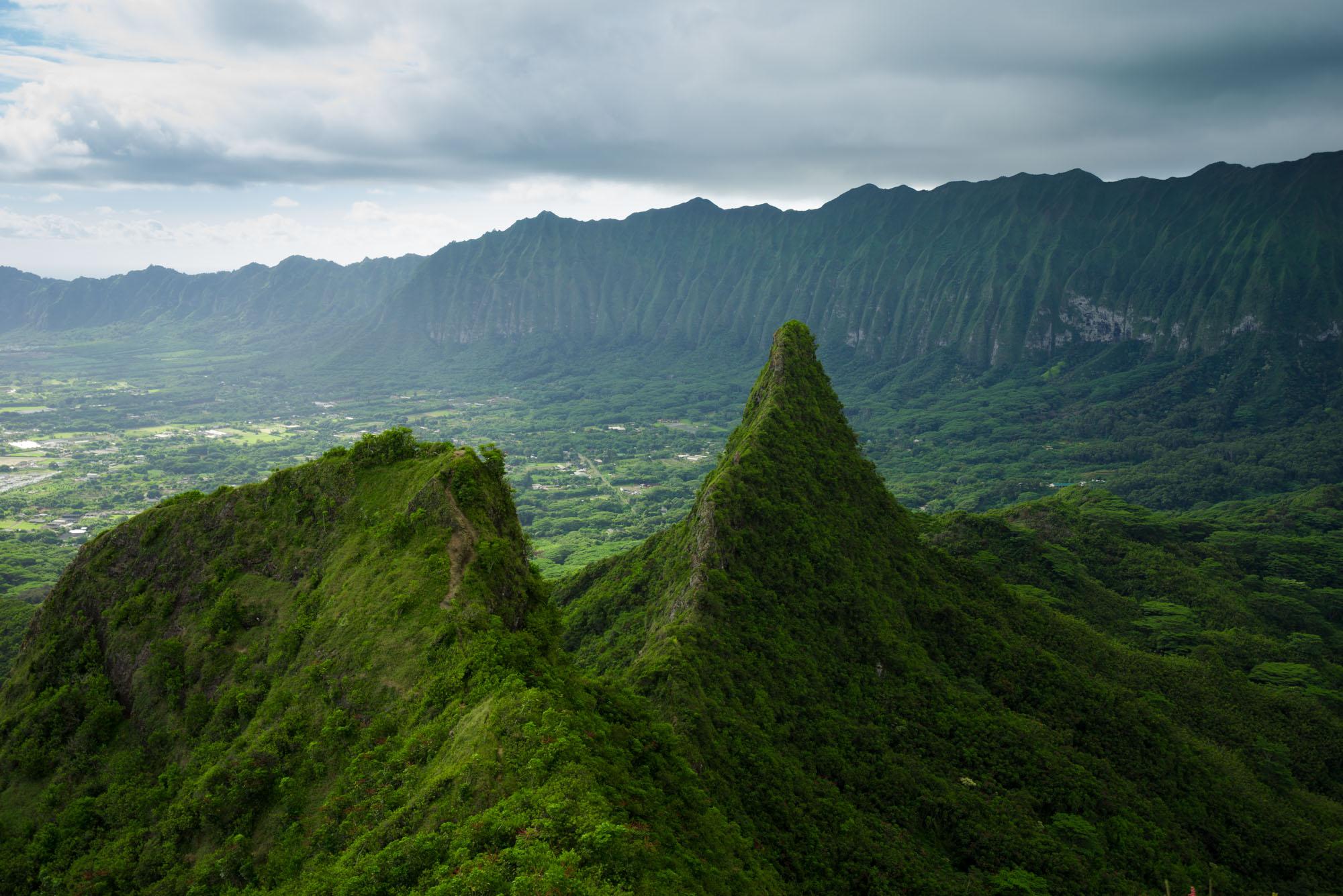 Olomana Three Peaks Trail