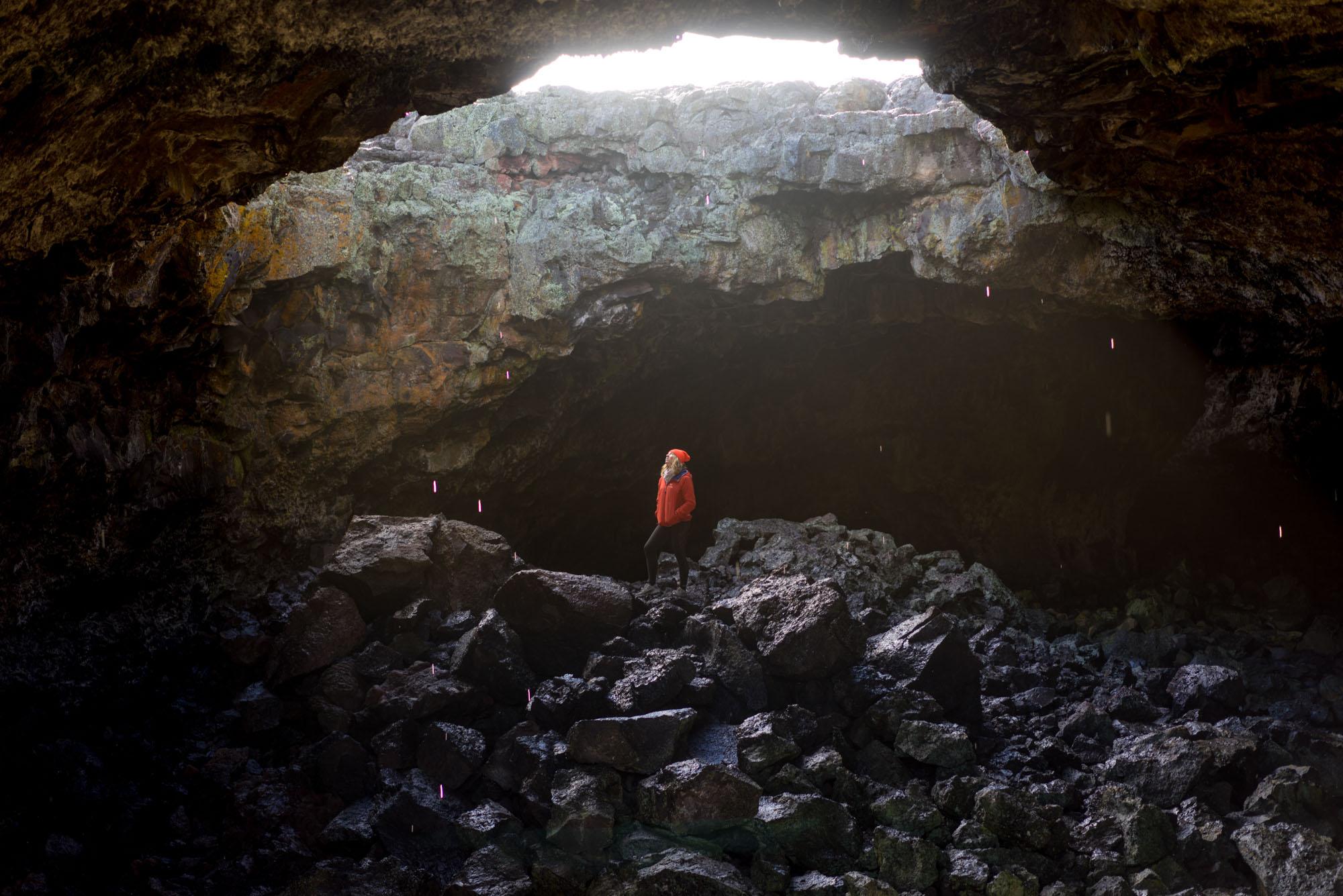 Indian Cave, Lava tube