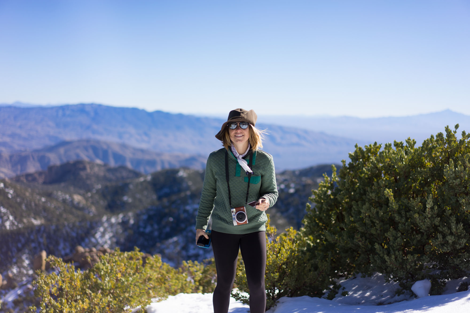 One of the views atop Mt Lemmon