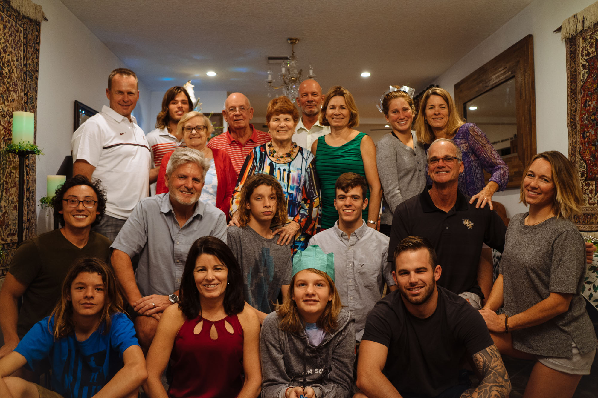 The Entire Family (MAK's side)
