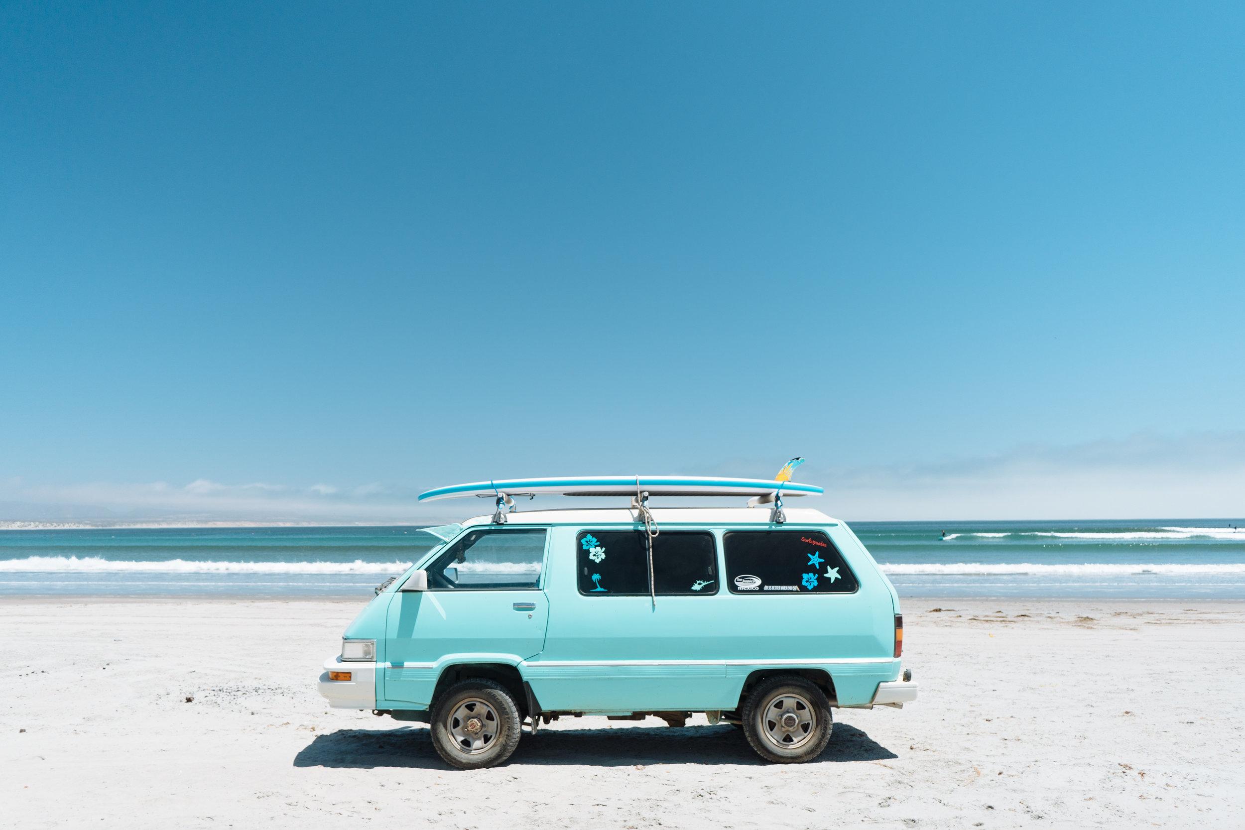 Found my van muse in Baja