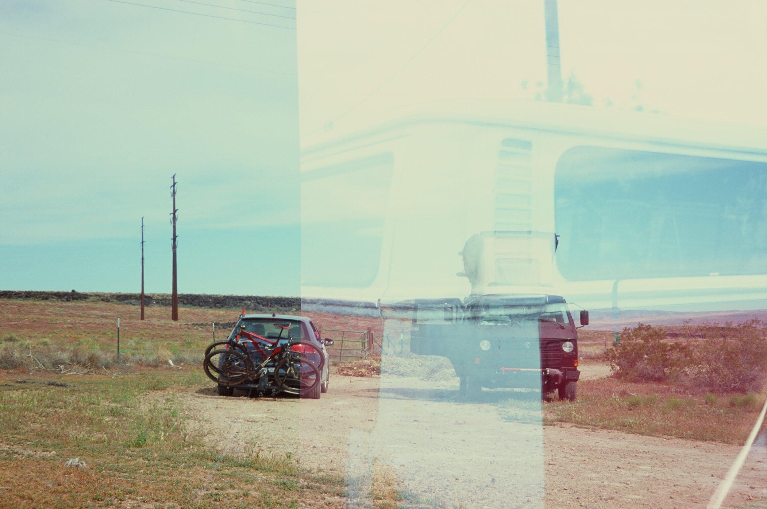 Double exposure - 35mm