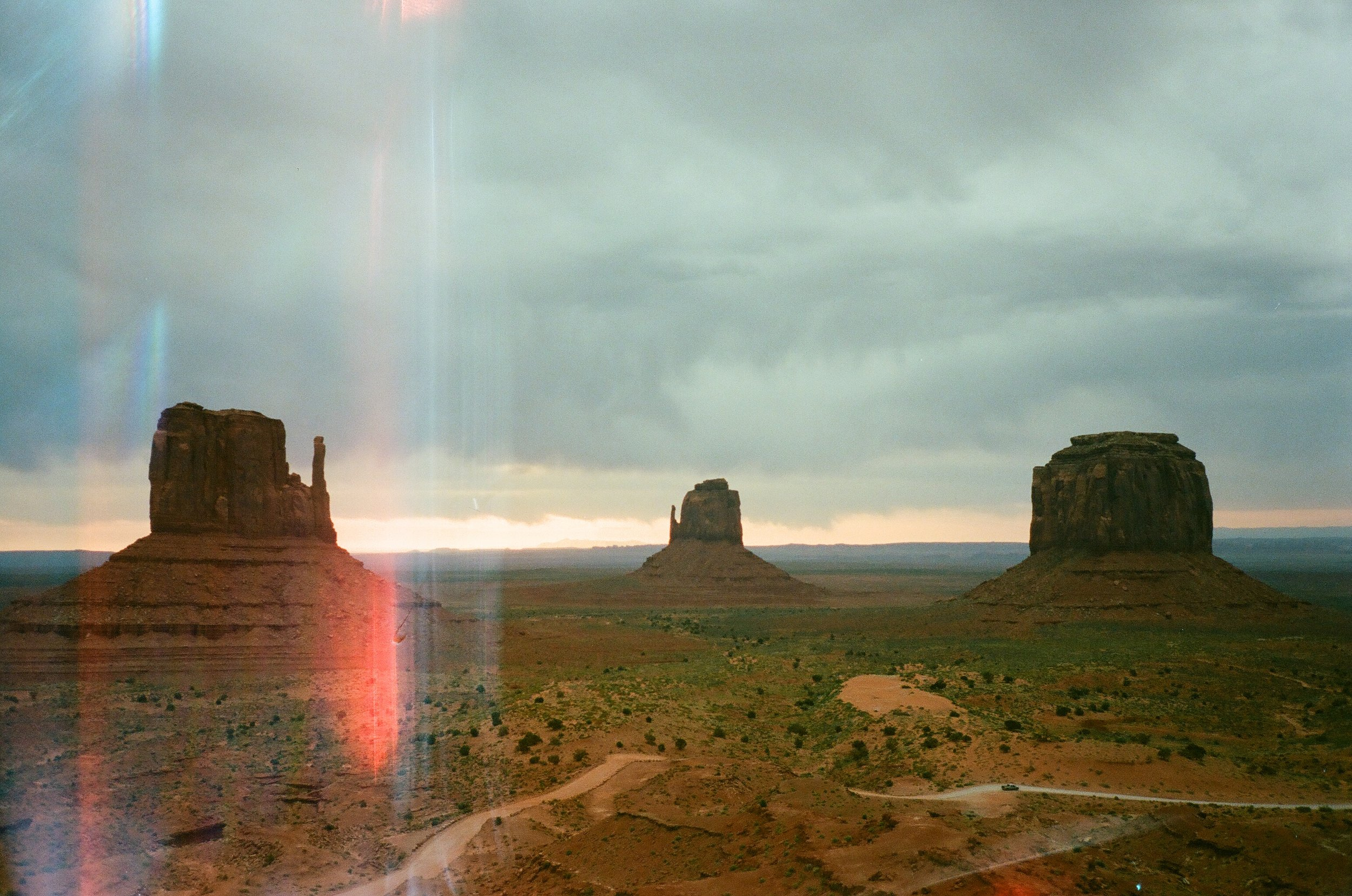 Monument Valley captured in 35mm Film